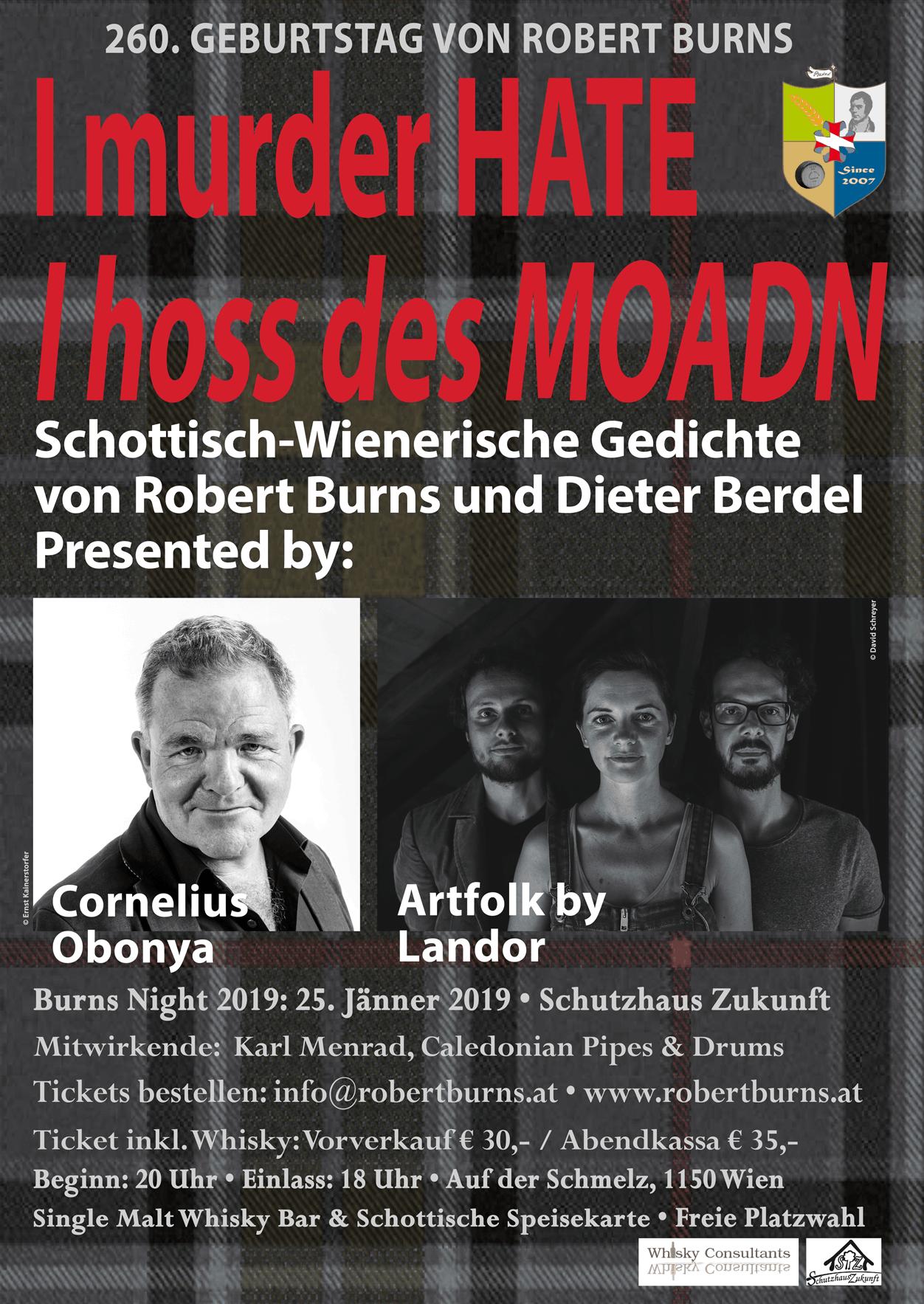 Die Robert Burns Society Austria